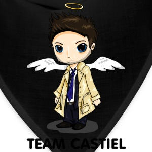 Team Castiel (light) Hoodies - Bandana
