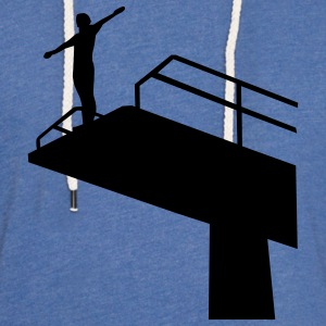 High diving T-Shirts - Unisex Lightweight Terry Hoodie