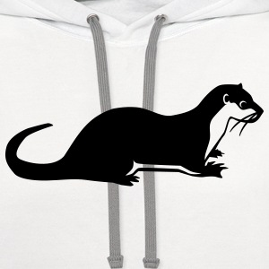 Otter Kids' Shirts - Contrast Hoodie