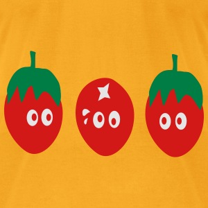 Funny tomatoes - Men's T-Shirt by American Apparel