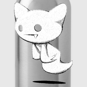Ghost kitty - Water Bottle