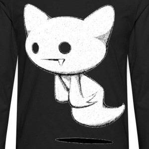 Ghost kitty - Men's Premium Long Sleeve T-Shirt