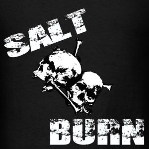 Salt and Burn Skullz 3  Hoodies - Men's T-Shirt