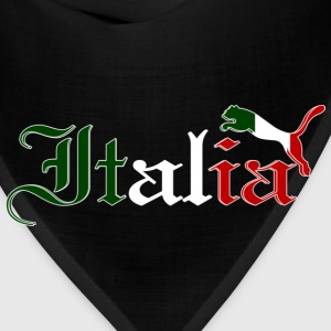 Italy Cat Flag Colors - Bandana