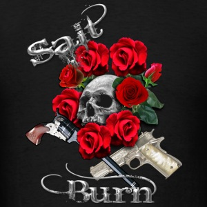 Salt N Burn Guns  Hoodies - Men's T-Shirt