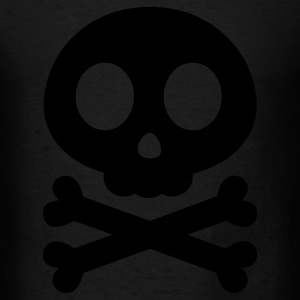 Skull Crossbones Bags  - Men's T-Shirt