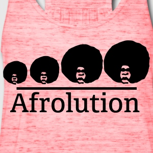 Afro Afrolution T-Shirts - Women's Flowy Tank Top by Bella