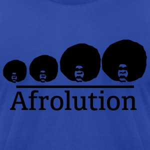 Afro Afrolution Hoodies - Men's T-Shirt by American Apparel