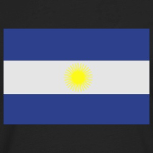 Flag of Argentina T-Shirts - Men's Premium Long Sleeve T-Shirt