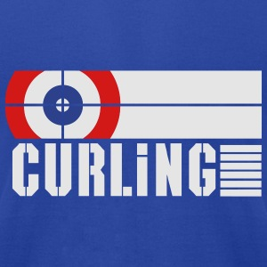 Curling ground Hoodies - Men's T-Shirt by American Apparel