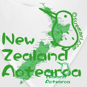 New Zealand's Map T-Shirts - Bandana