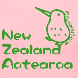 New Zealand's Map Sweatshirts - Women's Premium T-Shirt