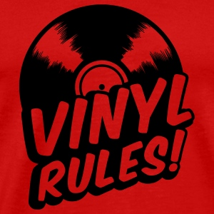 vinyl rules Caps - Men's Premium T-Shirt