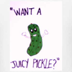 juicy pickle - Men's T-Shirt