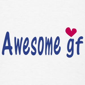 Awesome GF Small Buttons - Men's T-Shirt