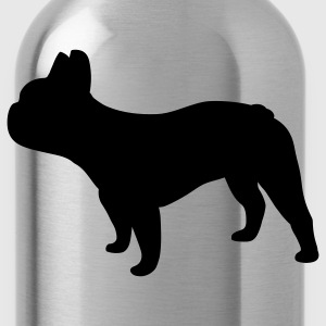 French Bulldog Women's T-Shirts - Water Bottle