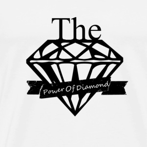 The power of diamond - Men's Premium T-Shirt