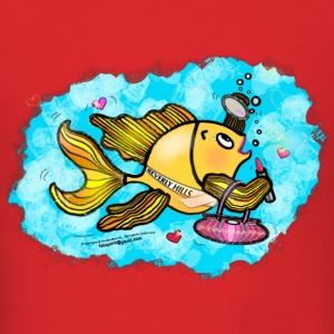 Beverly Hills housewife fish T-Shirt - Men's T-Shirt