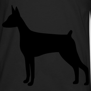 Doberman Pinscher Dog Bags  - Men's Premium Long Sleeve T-Shirt