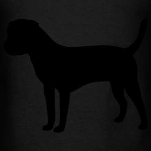 Border Terrier Bags  - Men's T-Shirt