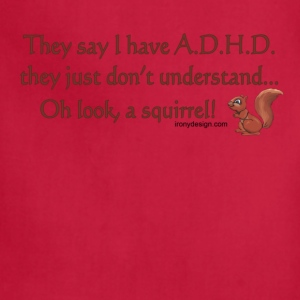 ADHD Squirrel - Adjustable Apron