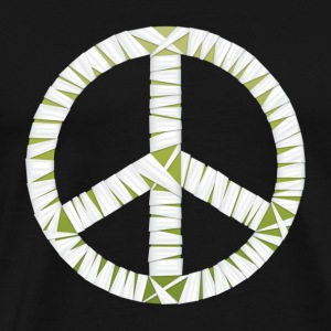 Mummy Peace Sign Women's Hooded Sweatshirt - Men's Premium T-Shirt