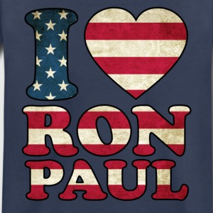 I Love Ron Paul Flag Kids' Shirts - Toddler Premium T-Shirt