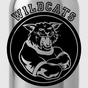 Wildcats or Wilcat Sports Team Mascot Women's T-Shirts - Water Bottle