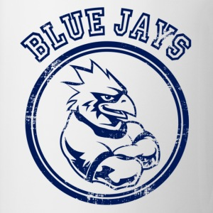 Custom Blue Jays Team Graphic Mascot Kids' Shirts - Coffee/Tea Mug