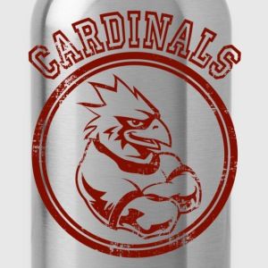 Custom Cardinals Team Graphic Mascot Hoodies - Water Bottle