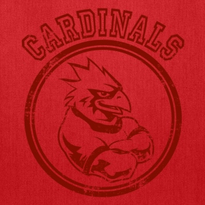 Custom Cardinals Team Graphic Mascot Hoodies - Tote Bag
