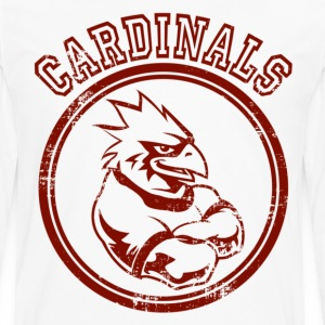 Custom Cardinals Team Graphic Mascot Kids' Shirts - Men's Premium Long Sleeve T-Shirt