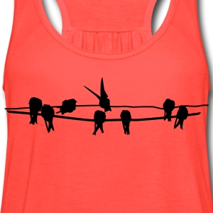 birds of a feather - Women's Flowy Tank Top by Bella