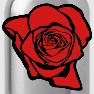 Rose (print on back of shirt) - Water Bottle