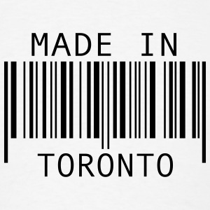 Made in Toronto Buttons - Men's T-Shirt