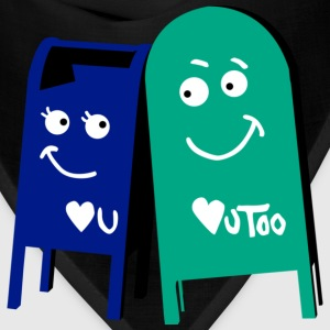 love mailboxes T-Shirts - Bandana