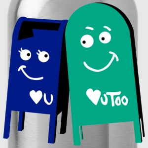 love mailboxes T-Shirts - Water Bottle