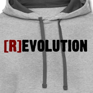 [R]evolution (Light Colors) - Contrast Hoodie