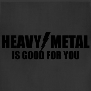 Heavy Metal is good for you - Adjustable Apron