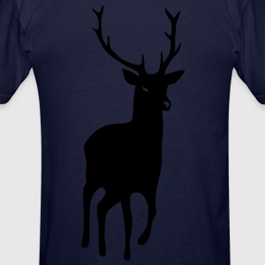 stag deer moose elk antler antlers horn horns cervine bachelor party night hunter hunting Hoodies - Men's T-Shirt