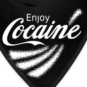 Enjoy Cocaine v2 T-Shirts - Bandana
