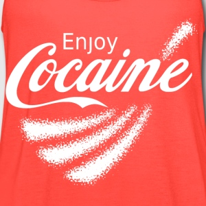Enjoy Cocaine v2 T-Shirts - Women's Flowy Tank Top by Bella
