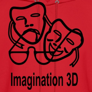 3D Imagination - Men's Hoodie