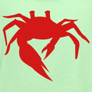 simple sand crab T-Shirts - Women's Flowy Tank Top by Bella