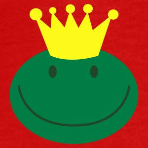 frog prince froggy face with a smile Caps - Men's Premium T-Shirt