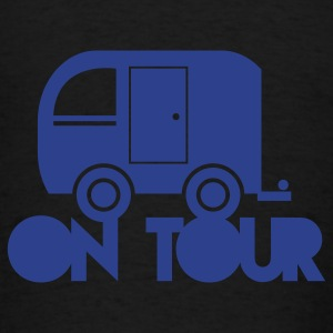 caravan camper on tour Bags  - Men's T-Shirt