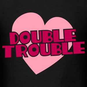 double trouble Bags  - Men's T-Shirt