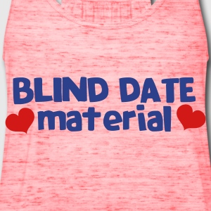 blind date material with hearts Bags  - Women's Flowy Tank Top by Bella
