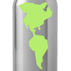 simple americas AMERICA CANADA MEXICO South AMERICA Bags  - Water Bottle