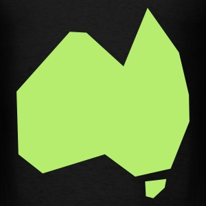 SIMPLIFIED AUSTRALIA aussie map Bags  - Men's T-Shirt